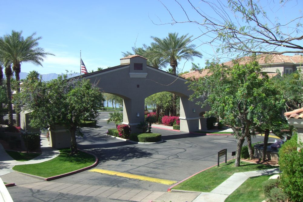 Entrance of Condo