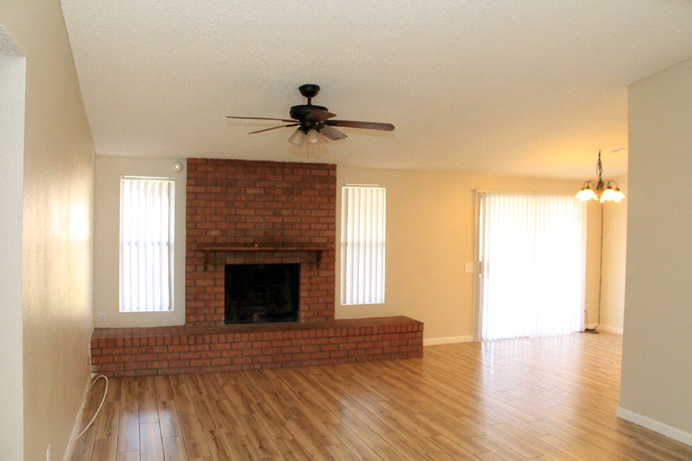 Family Room – Fireplace