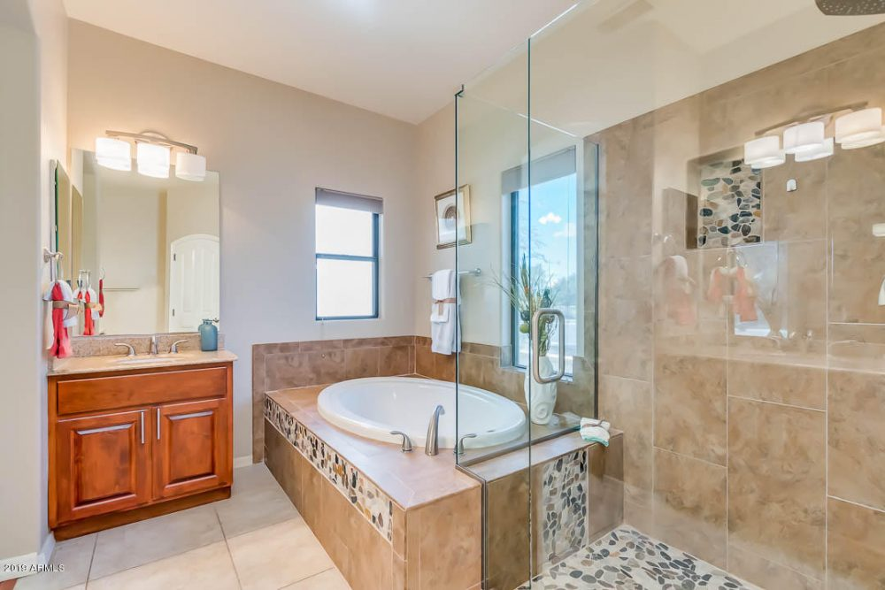 Lakeview master bath shower